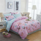 Butterfly Doona/Quilt/Duvet Cover Set Queen/King All Bed Size Fitted Sheet Set