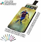 Lionel Messi No 10 Soccer Football Star FC - Universal Leather Phone Case Cover