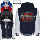 Dodge Charger Varsity Hoodie Jacket Mopar Classic American Muscle Car Clothing $56.38 USD on eBay