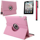 360 Rotating PU Leather Folio Case Magnetic Smart Cover Stand for iPad 9.7 2017