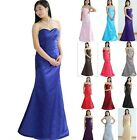 STOCK New Prom Party Ball Gown Formal Wedding Bridesmaid Evening Dress Size 6-22