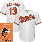 Men's Baltimore Orioles Manny Machado 2017 New White Cool Base jersey