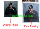 Paint From Your Own Photo Picture Commission Sample Painting Jay-z hip hop Rap