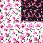 100% Cotton Poplin Floral Fabric - 477