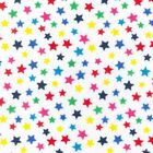 Printed Polyester Cotton -Primary Colours Stars - 6980