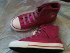New Converse All Star High Top Sneakers Bling Boots Shoes Girl 13.5 1.5 6 youth