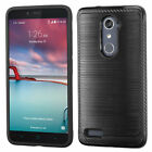 For ZTE Zmax Pro Z981 Slim Hybrid Shockproof Rugged Protective Hard Case Cover