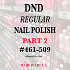DND Daisy Regular Nail Polish Lacquer - .5 fl oz - Choose yo