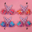 NEW TROLLS Girls toddler Hair clips clip pair set pair party stock in Australia