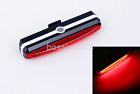 USB Rechargeable LED Bicycle Bike Cycling Front Rear Tail Light 6 Modes Lamp KF
