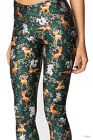 Women Cute little milu deer printed  milk Leggings Galaxy legging S-4XL 3507