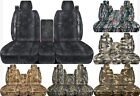 CC Ford F150 40-60 / 40-20-40 car seat covers with integrated seat belts  01-08