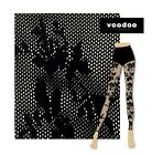 WOMENS 3 PACK VOODOO EMILY LEGGINGS Floral Lace Fishnet Stockings Sexy Intimate