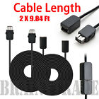 AGPtek Controller + 2 PCS 10Ft Extension Cable for Nintendo NES Mini Classic <br/> Longer Controller Cable 6Ft  Plug&amp;Play US Fast Shipping