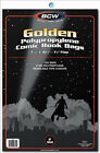 BCW: Comic Bags: GOLDEN or GOLDEN-THICK Size:  400 count   *FREE SHIPPING in USA