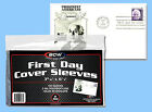 BCW: Polypro Sleeves: 1ST DAY COVER SIZE:10,000: 100 Packs (100 per pk) CASE-LOT