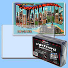 BCW: Rigid Toploaders: POSTCARD SIZE: 100ct:  4 Packs 25 per pk *FREE S&H in USA
