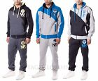 Mens Original NRZ Project 2 Piece Fleece Stylish Jog Bottom Tracksuit Set