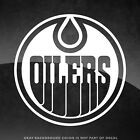 """Edmonton Oilers NHL Vinyl Decal Sticker - 4"""" and Larger - 30+ Color Options!"""
