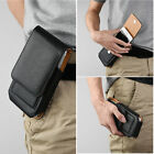 Leather VERTICAL Case Pouch for Apple iPhone 6+/6S+ & 7+ with Holster Belt Clip
