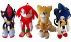 """Sonic, Knuckles Sonic The Hedge Hog Plush Backpack 19"""" Tall"""