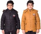 Boys Kids Roket 1965 Rugged Padded Quilted Parka Jacket Coat 5 to 11 years