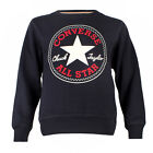 Childrens Converse Chuck Patch Athletic Navy Crew Neck Sweatshirt