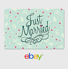 Kyпить eBay Digital Gift Card Wedding Hearts - Email Delivery на еВаy.соm