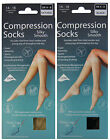 Flight Compression Socks Knee High Support Travel Maternity DVT Socks Size 4-8