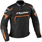 Bargain Ixon Eager Textile Waterproof Sports Motorcycle Jacket - Black Orange