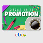 Kyпить eBay Digital Gift Card - Congrats Promotion at Work -  email delivery на еВаy.соm