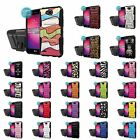LG X Power2/LG Fiesta/LV7 Defender Kickstand Holster Case + Screen Protector - A