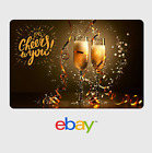 eBay Digital Gift Card - Congrats Cheers to You -  email delivery