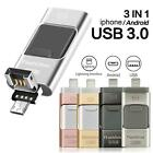 USB Flash Drive Disk Storage Memory 16 32 64 128GB For iPhone X 8 7 6 6S 5 iPad