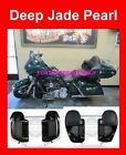 Deep Jade Pearl Lower Vented Fairing for 2014-17 Harley Road Street Electra