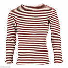 Russian Army MVD Spetsnaz Maroon Striped Shirt Telnyashka Summer Type