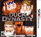 NEW Nintendo 3DS Duck Dynasty Rated E 10+ Hunt Explore Outdoors FREE SHIPPING