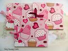 1 OR SET OF 3 CUPCAKE MINI SCRAPBOOK ALBUM AUTOGRAPH BOOK