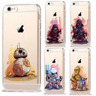 Star Wars Characters KyloRen BB-8 Soft TPU Silicone Phone Cases For iPhone 5 6 7 £4.15 GBP