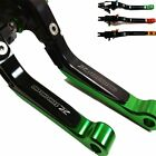Brake Clutch Lever Green for Kawasaki Z1000 Z1000SX Ninja 1000 Tourer 2016 2011