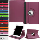 Leather PU Rotating Stand Soft Cover Case For 2017 NEW Apple iPad 5th A1822 1823