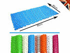 New Extra Large High Quality Strong Suction Anti Non Slip Bath Shower Mat Pebble