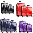 KONO Lightweight Suitcase Hard shell 4 wheel Luggage Travel Trolley Case PC