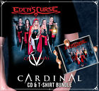 Eden's Curse Cardinal CD & T-Shirt Bundle (Gents)