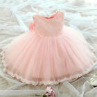 FAIRY PRINCESS UK, BABY GIRLS PEACH PINK LACE PARTY DRESS CHRISTENING OCCASION