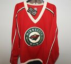 NHL Minnesota Wild Hockey Jersey New Mens Sizes MSRP 60