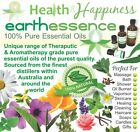 earthessence CERTIFIED 100% PURE ESSENTIAL OILS ~ A - K ~ FREE GIFT