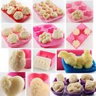 Sugarcraf Silicone Cake Decorating Mould Candy Soap Candle Chocolate Baking Mold
