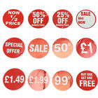SELF ADHESIVE PRICE LABEL STICKERS