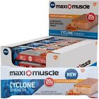Maximuscle Cyclone Bars Protein Creatine HMB New 12 x 60g *All Flavours*
